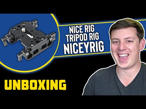 Tripod Mounting Plate with Rails Unboxing from NiceyRig   Hacking Hollywood