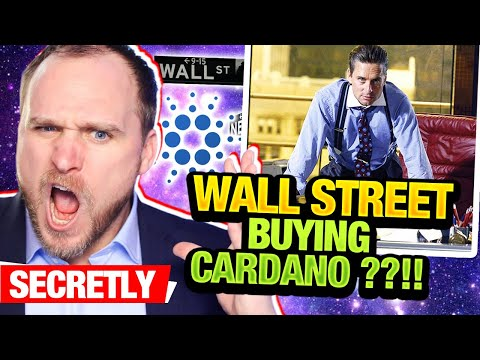 WALL STREET IS BUYING CARDANO!!! BLOOMBERG WILL 100x CARDANO $ADA ETHEREUM KILLER MOON $2 $4 $10