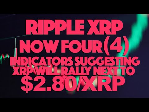 Ripple XRP: Now FOUR (4) Indicators Suggesting XRP Will Rally To Next $2.80/XRP