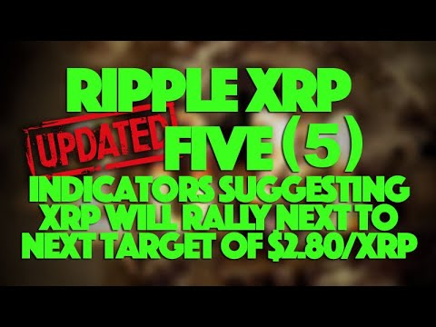 Ripple XRP: UPDATED Now FIVE (5) Indicators Suggesting XRP To Move To $2.80/XRP Next