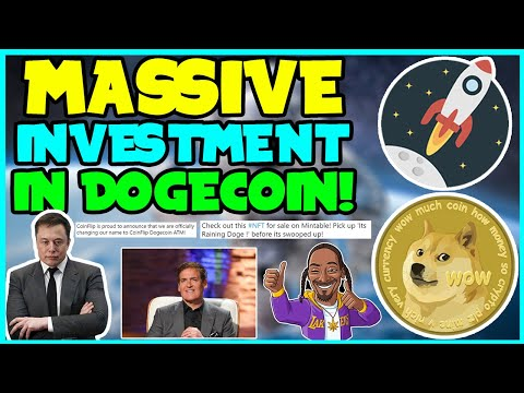 *NEW UPDATE* DOGECOIN IS ACQUIRING BIG INVESTMENTS! (GREAT NEWS!) Elon Musk, Mark Cuban, SLIMJIM!