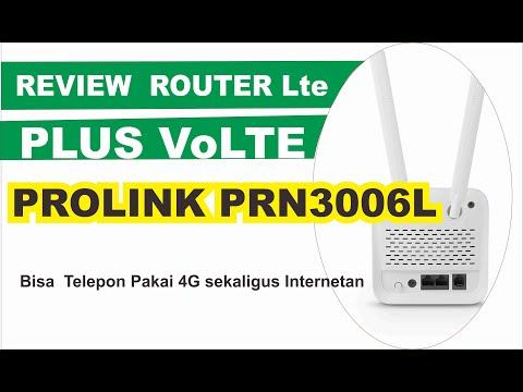🌐 REVIEW PROLINK PRN 3006L ROUTER Lte PLUS VoLTE