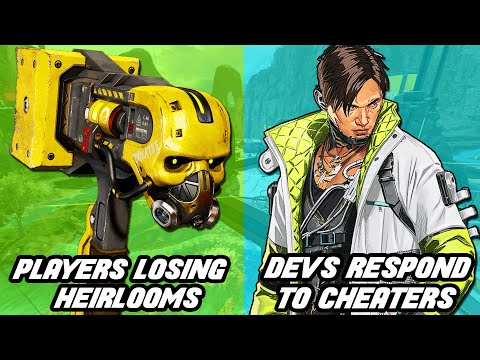 Apex Legends Players Losing Heirlooms! Devs Respond To Cheaters + Crypto Heirloom!