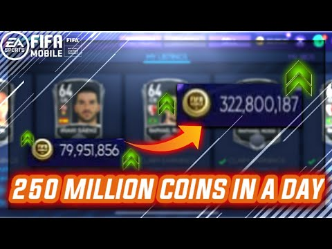OMG! MAKING 250M COINS IN A DAY   MARKET TIPS AND TRICKS   FIFAMOBILE 21