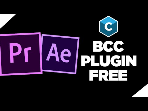 How to Get BCC Plugin | Adobe After Effects & Premiere Pro Tutorial FREE (2020)