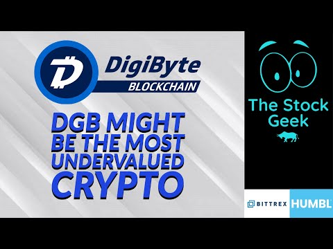 ?? DGB Digibyte has the best fundamentals ever   Tremendously undervalued   best crypto ever?? BTC