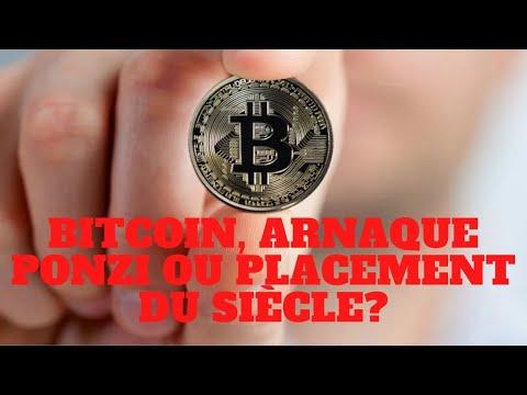 Bitcoin et crypto monnaies arnaque ou placement du siècle? Un nouveau système de Ponzi?