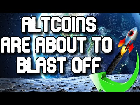 Altcoin season 2021 blasting off! Alt coins ready to explode! BTC dominance  dropping