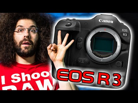 OFFICIAL Canon EOS R3 PREVIEW: MIND-BLOWING SPECS?! (vs Sony a1)