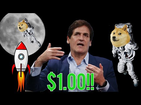 Mark Cuban JUST SAID Dogecoin Will HIT $1 SOON!! 3 Reasons Why You Should BUY Dogecoin NOW!!