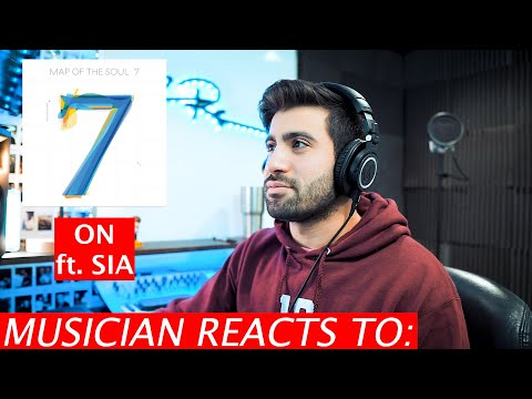 Musician Reacts To On ft. Sia | BTS