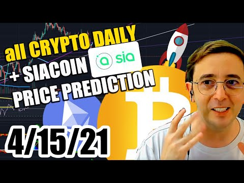 DAILY CRYPTO + SIA COIN analysis – price prediction – TODAY  – SIA coin SCUSDT  sc coin