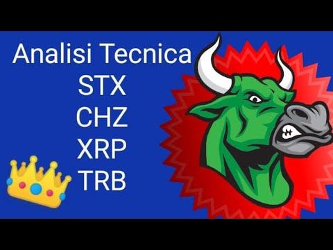 Analisi Tecnica STX CHZ XRP TRB | Nuova Serie 🎉 Cryptovalute
