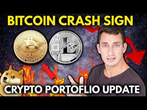 URGENT BITCOIN UPDATE (Not Clickbait) + CRYPTO PORTFOLIO   Watch This Bitcoin Pattern Now