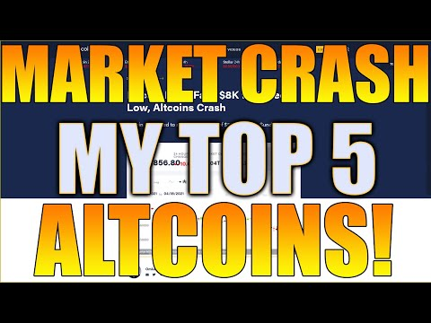 Now What? Massive Crypto Discounts! My Top 5 Altcoin Investments of The Crypto Market Crash!