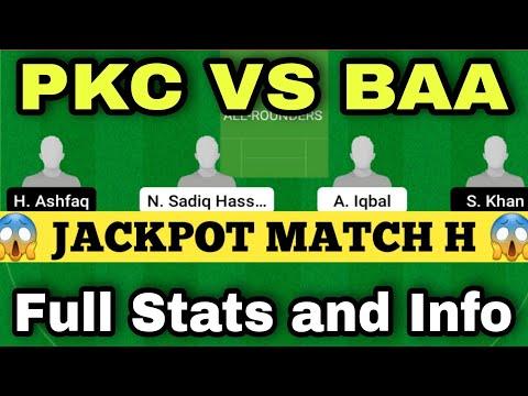 pkc vs baa dream11   pkc vs bcc dream11 Prediction   pkc vs baa Ecs T-10 Vienna  pkc vs baa,PKCvsBAA