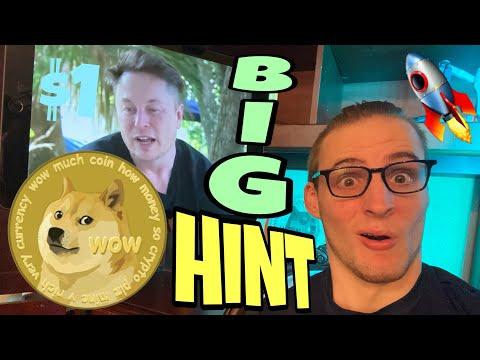 ELON MUSK DROPS BIG DOGECOIN HINT!!! 🚀⚠️ 🚀