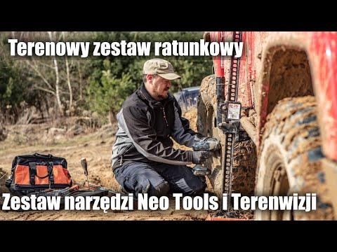 Terenowy zestaw ratunkowy. Zestaw narzędzi Neo Tools i Terenwizji