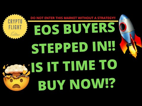 EOS BUYERS STEPPED IN!! IS IT TIME TO BUY NOW!?  PRICE PREDICTION   TECHNICAL ANALYSIS$EOSUSD