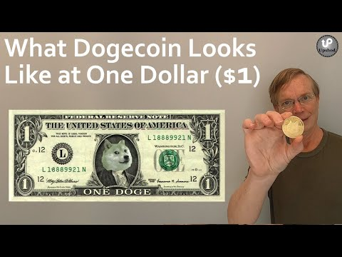 What Dogecoin Looks Like at One Dollar ($1)