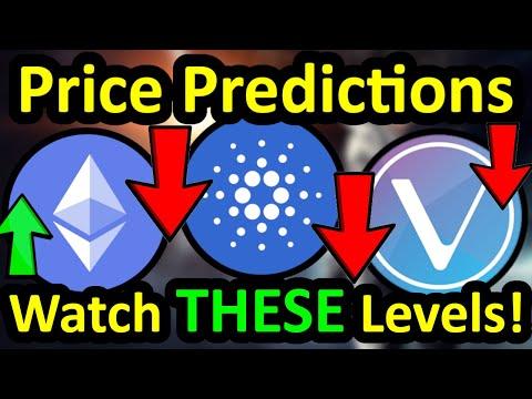 ETHEREUM, CARDANO and VECHAIN Price Prediction – Crypto CRASH?! ETH ADA VET Altcoin Price Prediction