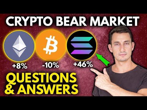 ARE WE IN A CRYPTO BEAR MARKET?   Bitcoin & Crypto Q&A