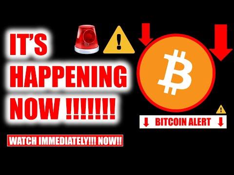⚠️ WATCH IMMEDIATELY!!!! BITCOIN HOLDERS IN DANGER!!! ⚠️ [crypto price analysis TA & btc news today]