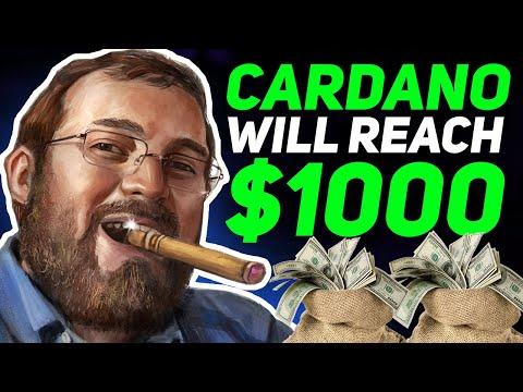 Hoskinson Reveals When ADA Will Hit $1,000 (Cardano Price Prediction & News 2021)
