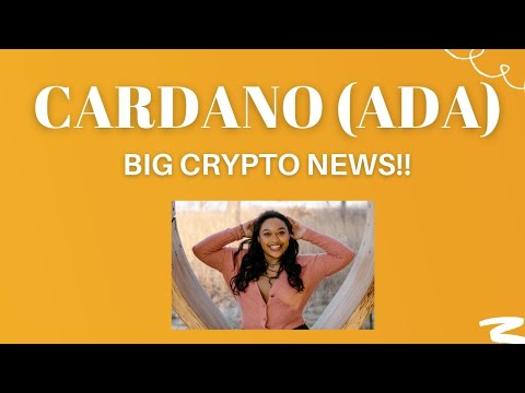 CARDANO (ADA) Could be set to run!