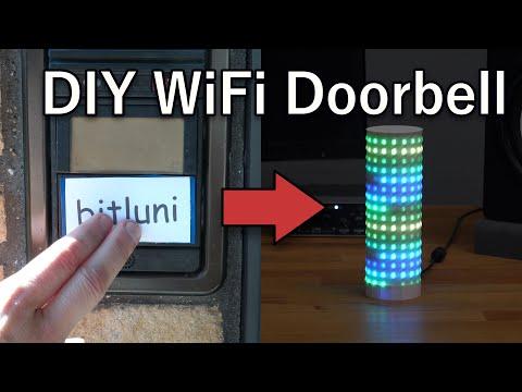 Doorbell WiFi Upgrade [DIY, IoT, Node-RED, WLED]