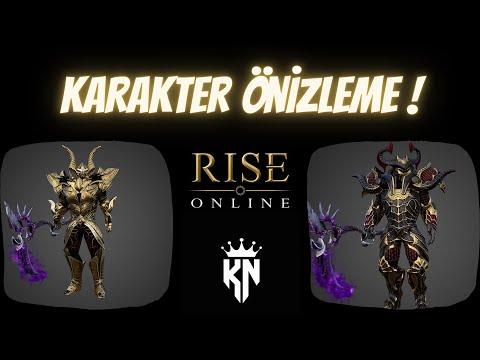 Rise Online World   Protean   Lunaskar Karakter Görünümleri Önizleme