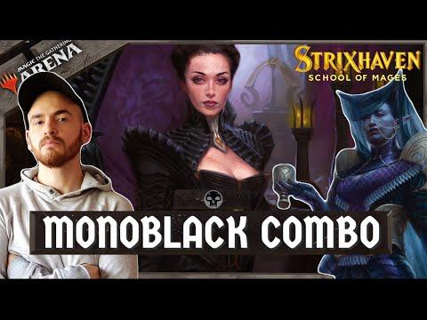 MTG Arena – NUEVO MAZO COMBO! Mono Black Plagas!  Top Deck Standard  [STX]