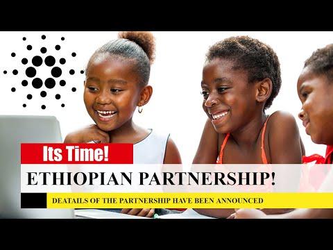 Cardano Africa! Ethiopian Partnership Details Released!