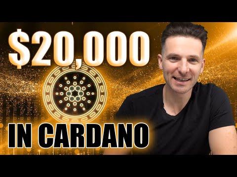 Bought $20,000 DOLLARS IN CARDANO ADA CRYPTO   Will It Skyrocket?