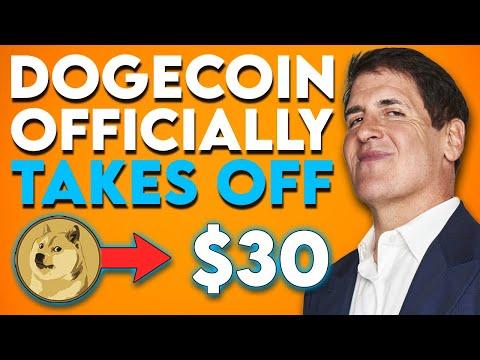 DOGECOIN TO $30! ELON MUSK REVEALS WHEN DOGECOIN WILL REACH $30 (MARK CUBAN ON DOGECOIN) 🚀