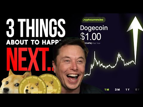 3 MAJOR THINGS HAPPENING TO DOGECOIN NEXT (NEW!DOGECOIN PRICE PREDICTION!) (NEW NEWS!)