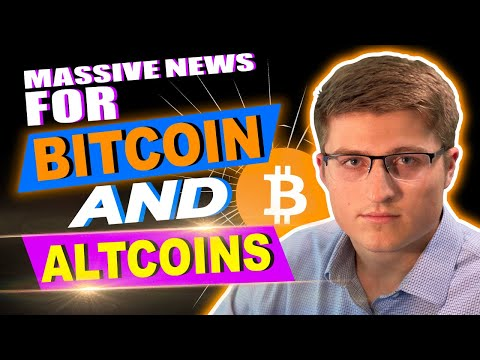 MASSIVE Bitcoin And Crypto Altcoin News! ALTCOINS TO BUY NOW! 😱🚀