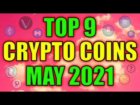 Top 9 Altcoins with MASSIVE POTENTIAL in May! Best Cryptocurrency Projects! Get Rich in Crypto