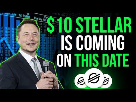 Elon Musk Reveals When STELLAR LUMENS Will Reach $50?  Stellar Price Prediction & Xlm Price 2021
