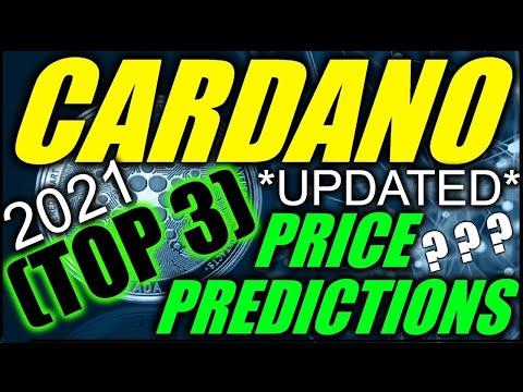 ✅ 💰Cardano Price Prediction (TOP 3) 2021🔵 *APRIL UPDATE*🔵 ADA Cardano Price DOUBLE DIGITS In 2021 ?