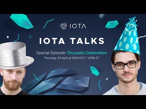 [Special Episode – Chrysalis] IOTA Talks with Dominik Schiener – 29.04.2021