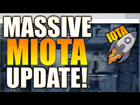 MIOTA IOTA Price Prediction – MASSIVE Chrysalis UPDATE! – MIOTA Price Prediction – Crypto IOTA!
