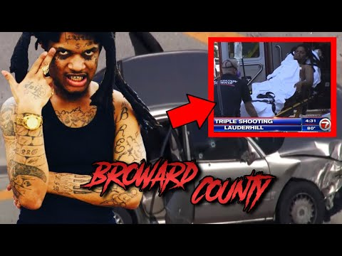 FLORIDA RAPPER SYKOBOB ALLEGEDLY SHOT IN BROAD DAY TRIPLE SHOOTING, HE DENIES IT