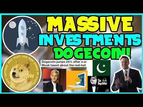 *FAST* DOGECOIN IS ACQUIRING BIG FINANCE! (MUST WATCH!) Elon Musk DOGE, ELLEN SHOW, COINBASE PUSH!