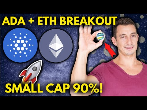 BULLISH CRYPTO NEWS!! CARDANO EARLY BREAK-OUT SIGN! ETHEREUM FLIPS PAYPAL & ETH 30% OF BITCOIN!