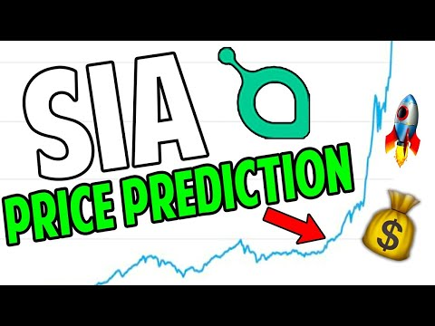 SIA Coin to the MOON??   SiaCoin Price Prediction 2021