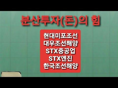 현대미포조선,대우조선해양,STX중공업,STX엔진,한국조선해양