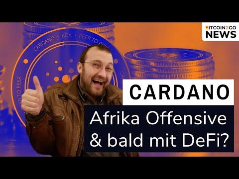 CARDANO zündet AFRIKA TURBO & Ethereum DeFi Rekorde