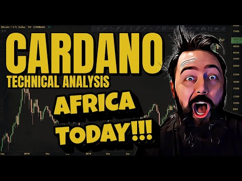 WILL AFRICA NEWS SEND THIS TO MOON?! – Cardano ADA Analysis And Price Prediction.