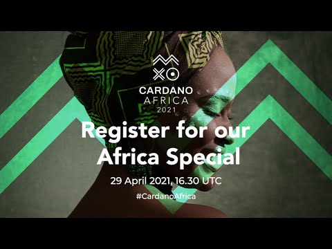 More great Africa news for ADA! | Cardano Africa Special Watch Party